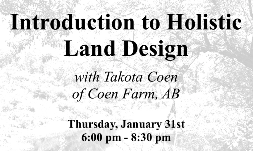 Introduction to Holistic Land Design
